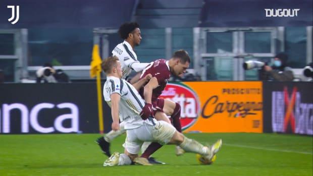 The best of De Ligt's defensive blocks in 2020/21 Serie A so far