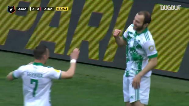 Georgy Melkadze's incredible bicycle kick against FC Khimki