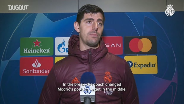 Thibaut Courtois: 'We look forward to be in the Champions League final'