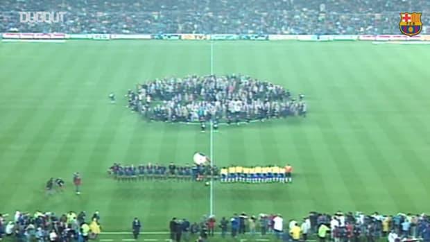 FC Barcelona vs Brasil, Centenary match (2-2)
