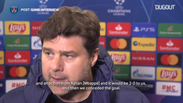 Pochettino: 'There is a second leg and we need to believe'