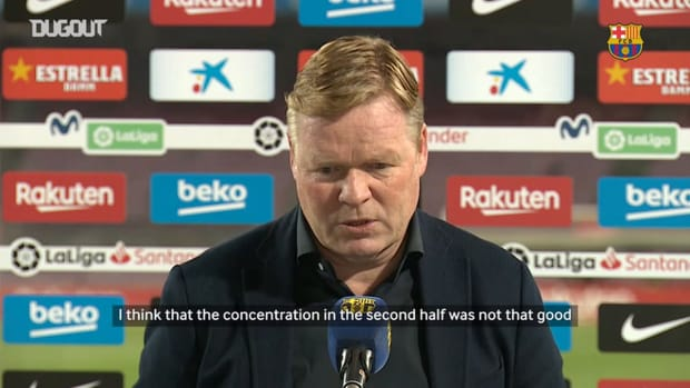 Ronald Koeman: 'There are still five games to play'