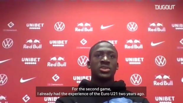 Ibrahima Konaté on Euro Under 21