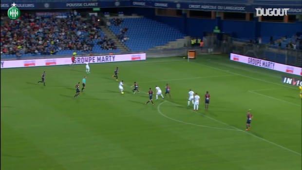 Romain Hamouma claims Saint-Etienne win vs Montpellier