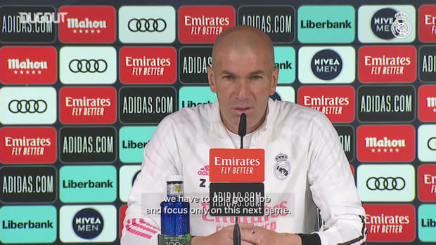 Zinedine Zidane: 'We want to win LaLiga and we'll fight to the end'