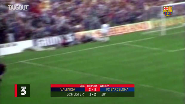 Barcelona's three forgotten goals against Valencia