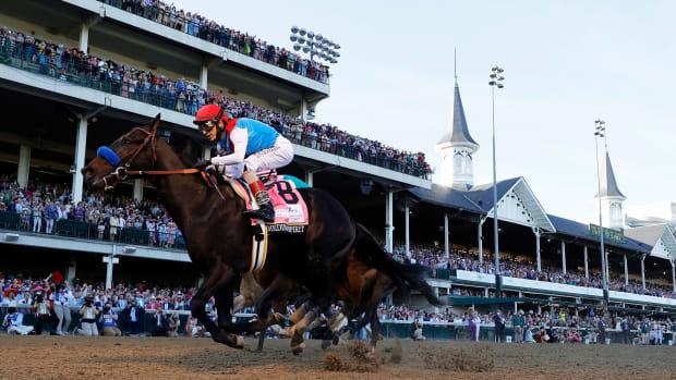 Medina Spirit wins the 2021 Kentucky Derby