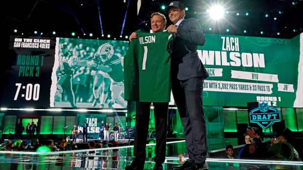 New York Jets QB Zach Wilson NFL Draft