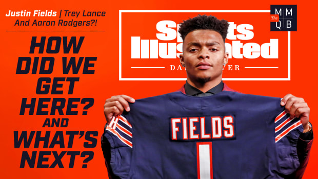 SI Daily Cover: Justin Fields, Trey Lance and Aaron Rodgers?! How did we get here? And what's next?