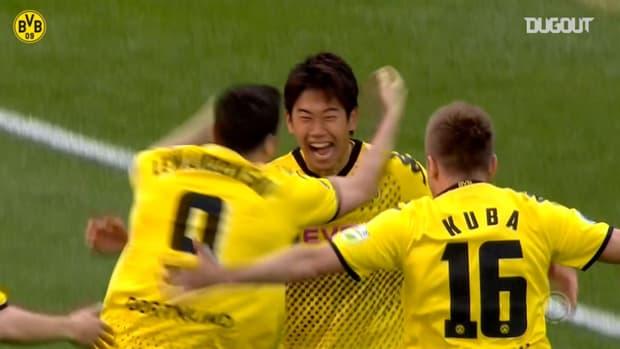 Dortmund thrash Bayern in the DFB Cup final