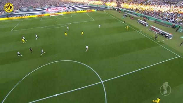 Aubameyang seals Dortmund's DFB Cup final win