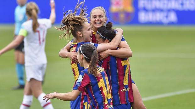 Barcelona-PSG-UWCL