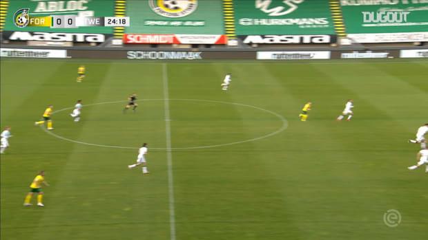 Semedo's double fires Fortuna past FC Twente