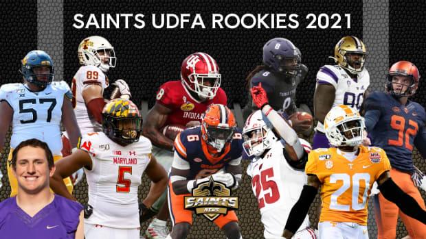New Orleans Saints UDFA Rookies 2021