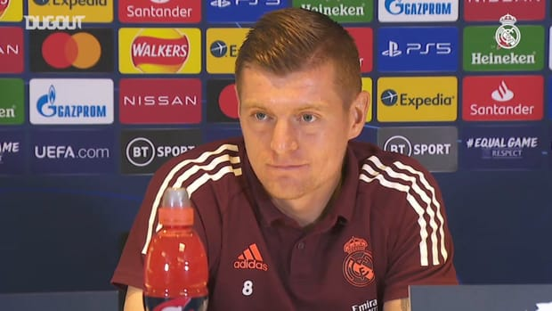 Toni Kroos: 'We defend well and that's important in a tie against a side like Chelsea'
