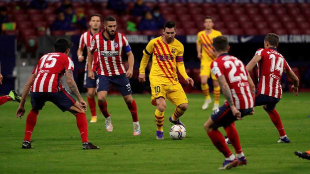 Lionel Messi vs. Atletico