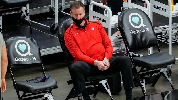 Portland Trail Blazers coach Terry Stotts