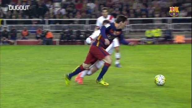 Great goals from Neymar Jr against Atlético Madrid