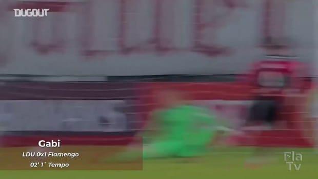 Flamengo beat LDU in the third round of 2021 Libertadores
