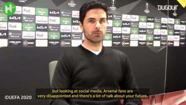 Mikel Arteta believes he is still the right man to lead Arsenal forward