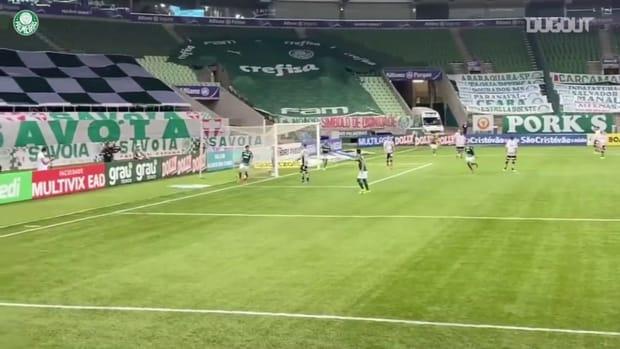 Palmeiras beat Santos at Allianz Parque