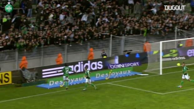 Brandao's goals vs OM with Saint-Etienne