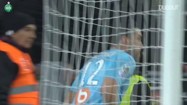 Khazri's brace helps Saint-Etienne to win vs Marseille