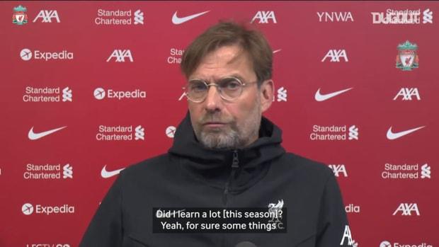 Klopp: 'We will use our experiences this season, next season'