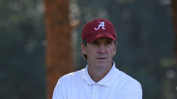 Former Alabama golfer Steve Hudson. Inducted into ASHOF in 2021.