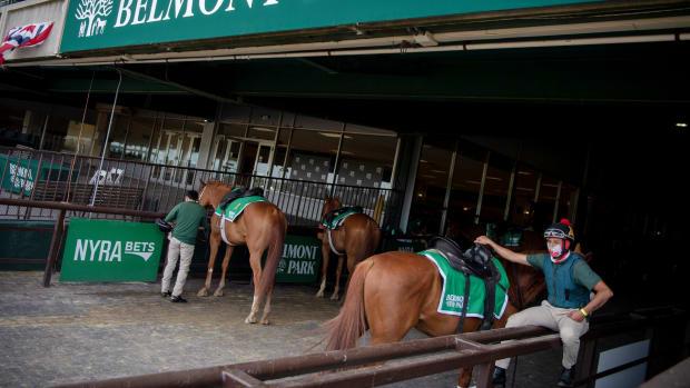 Horse Racing Belmont Park
