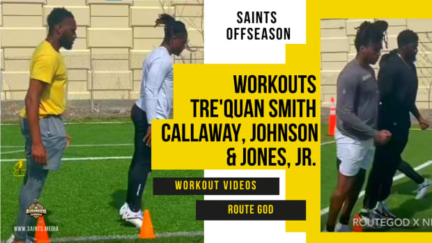 Saints Workouts Smith Routegod