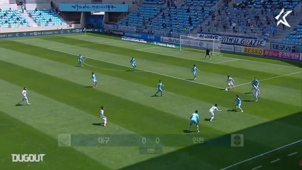 Daegu 3-0 Incheon: Cesinha marks return with a goal