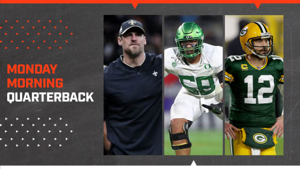MMQB: Dan Campbell, Penei Sewell and Aaron Rodgers