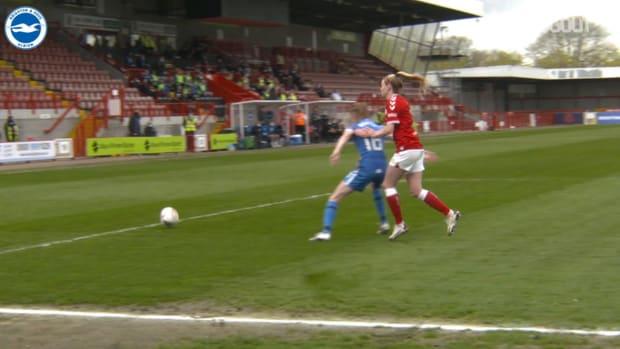 Brighton Women sign off 2020-21 season with a win