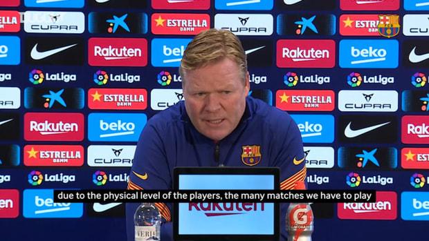 Ronald Koeman: 'I think the league is very level'