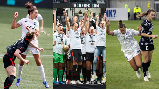 The Portland Thorns won the 2021 NWSL Challenge Cup