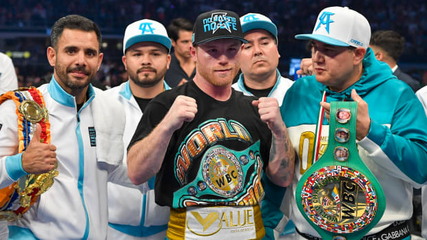 Canelo Win Against Saunders