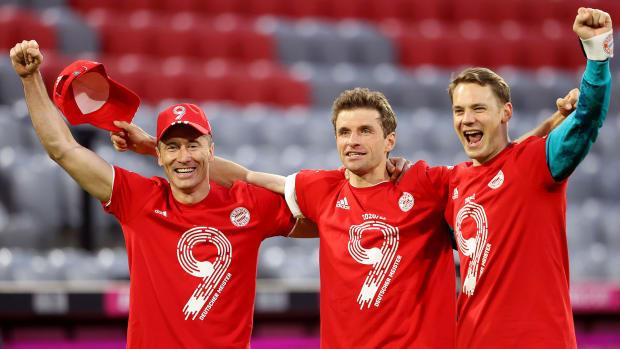 Bayern-Munich-Nine-Bundesliga-Titles