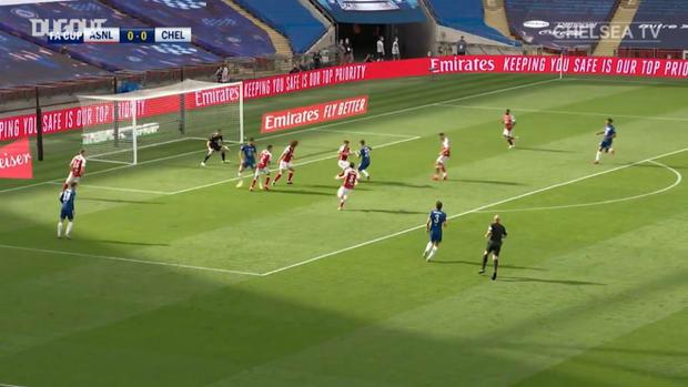 Christian Pulisic's FA Cup final goal vs Arsenal