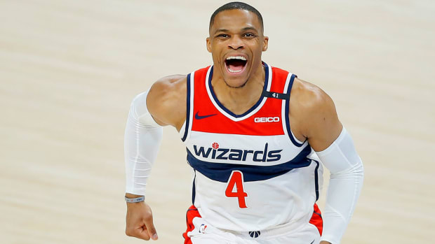 Washington Wizards point guard Russell Westbrook
