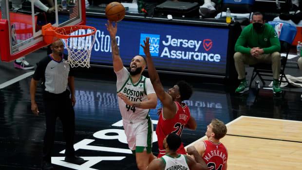 Boston Celtics Evan Fournier