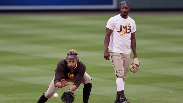 Fernando Tatis Jr. and Jorge Mateo.