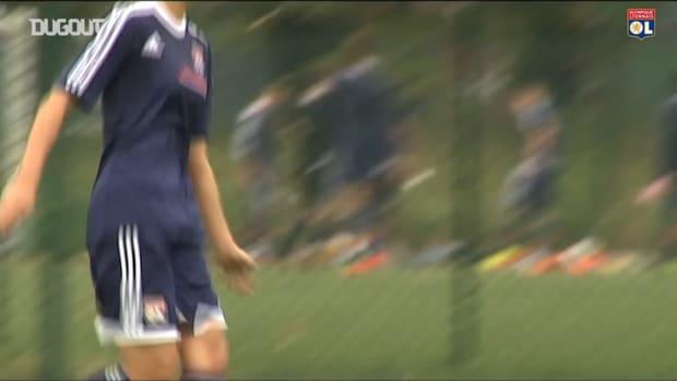 Olympique Lyonnais' tribute to Saki Kumagai