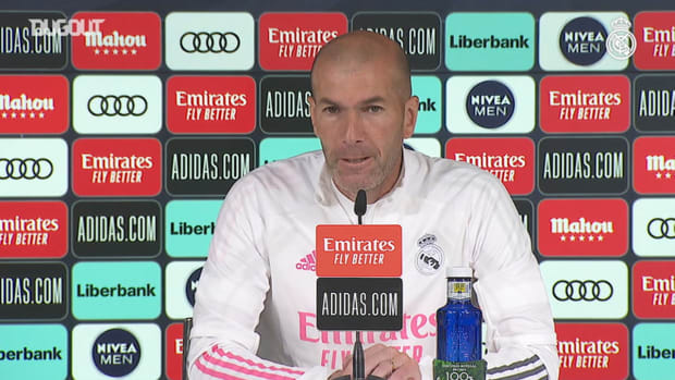 Zinedine Zidane: 'We're going to give our all and try to win LaLiga'