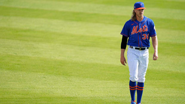 Noah Syndergaard with the Mets.