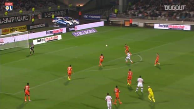 Corentin Tolisso's incredible assist for Fekir vs Lorient