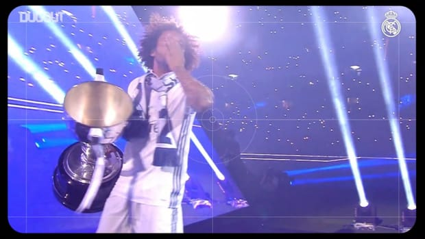 Marcelo lifted 22 trophies with Real Madrid