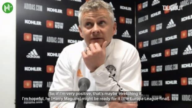 Solskjær on Maguire, Cavani and Liverpool