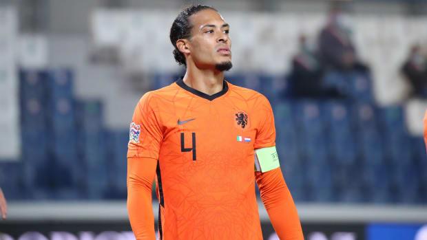 Virgil van Dijk will miss the Euros
