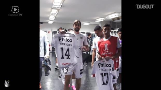 Behind the scenes of Santos' victory vs Boca Juniors at Vila Belmiro